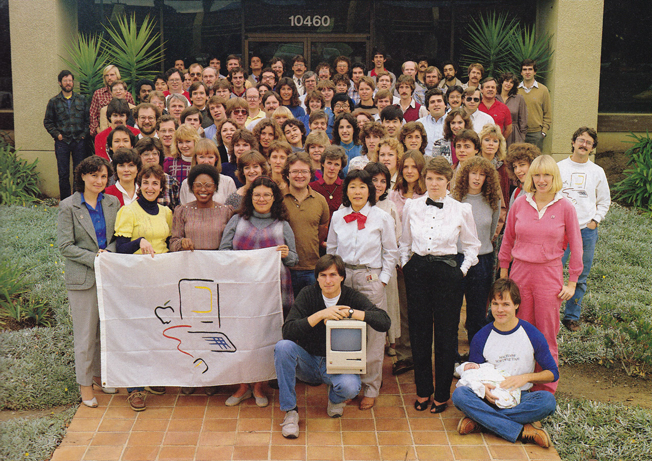 The Macintosh team